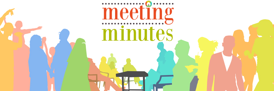 Meeting Minutes – May 2016