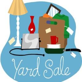 WENA-Reiche PTO Yard Sale Oct. 18